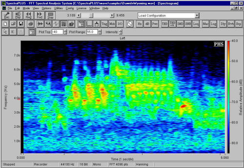 Screenshot Spectrogram